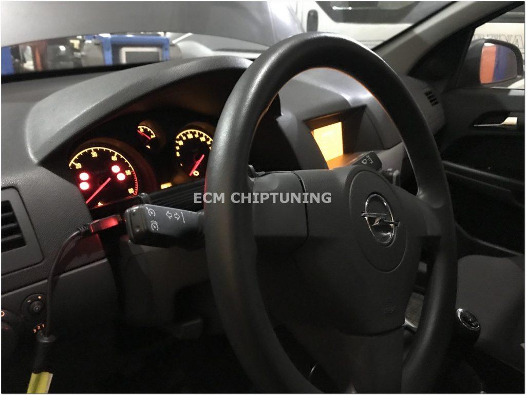удаление катализатора Opel Zafira