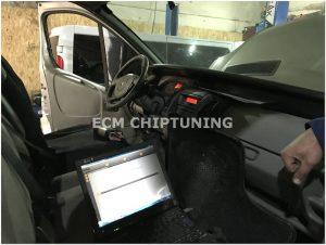 Renault Trafic 2.5 удаление отключение сажевог офильтра и клапана ЕГР