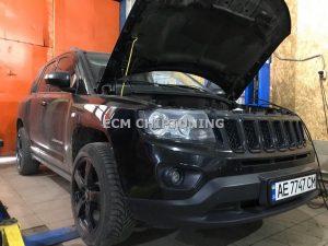 Удаление катализатора и сажевого фильтра Jeep
