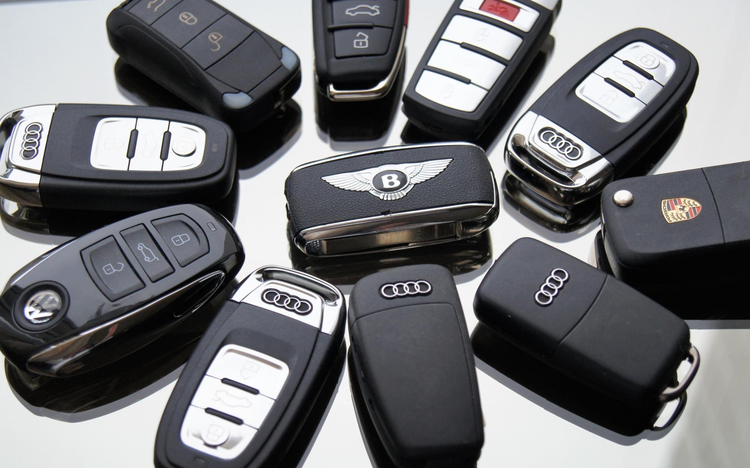 ремонт ключей с чипом