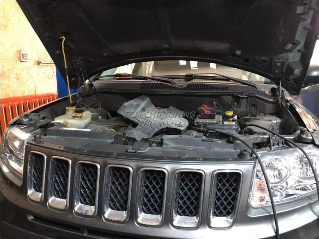 Jeep Compass 2.4i 172hp увеличить мощность чип-тюнинг
