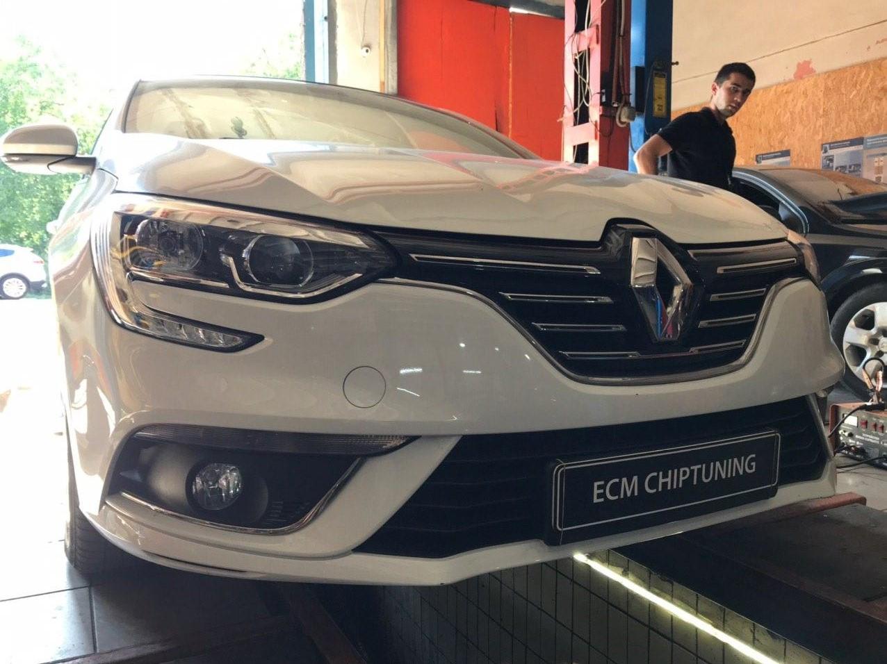 Renault Megane 1.5 dCi 115hp чип-тюнинг в Днепре
