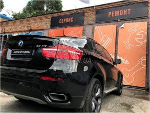 BMW X6 отключение удаление сажевого фильтра и катализатора в Днепре