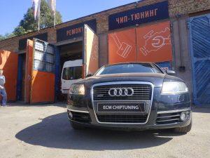 Чип-тюнинг удаление отключение сажевого фильтра Audi A6 3.0 TDI 225hp в Днепре