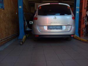 Рено (Renault)удаление отключение сажевого фильтра и клапана ЕГР Scenic 2006 –> 2009 1.5 D