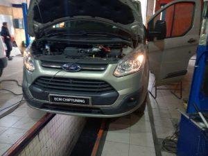 чип-тюнинг удаление отключение сажевого фильтра клапана ЕГР Ford Transit Custom 2.2 TDCi 125hp
