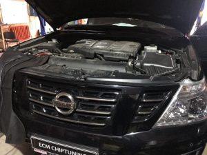 Ниссан (Nissan) Patrol 2014 –>5.6 чип-тюнинг удаление отключение катализатора