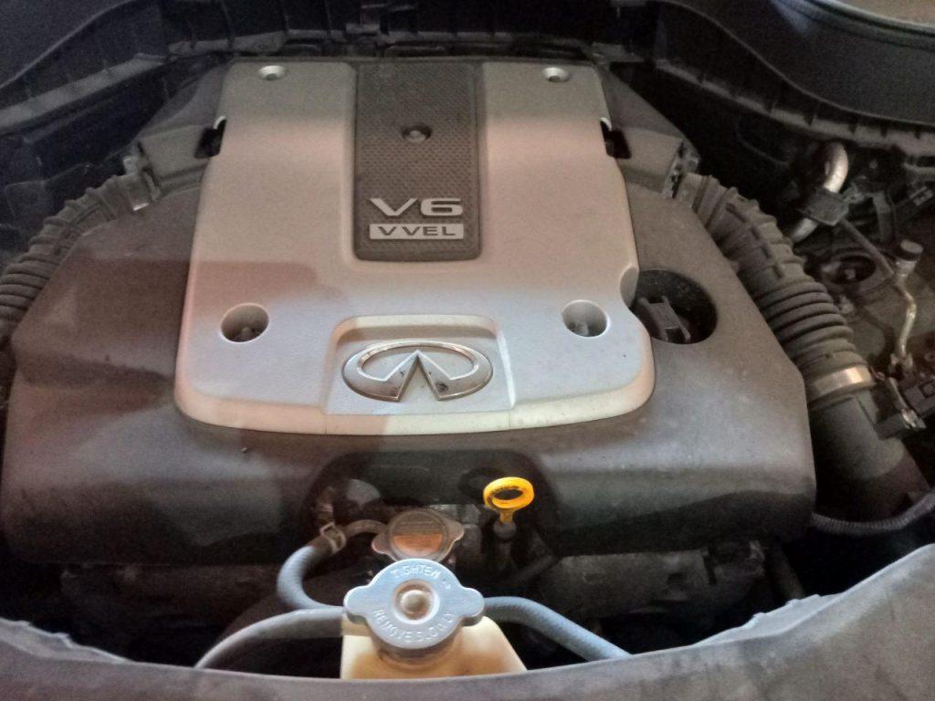 Чип тюнинг Инфинити (Infiniti) FX 2008 -> 2013 прошивка Евро2 удаление отключение катализатора