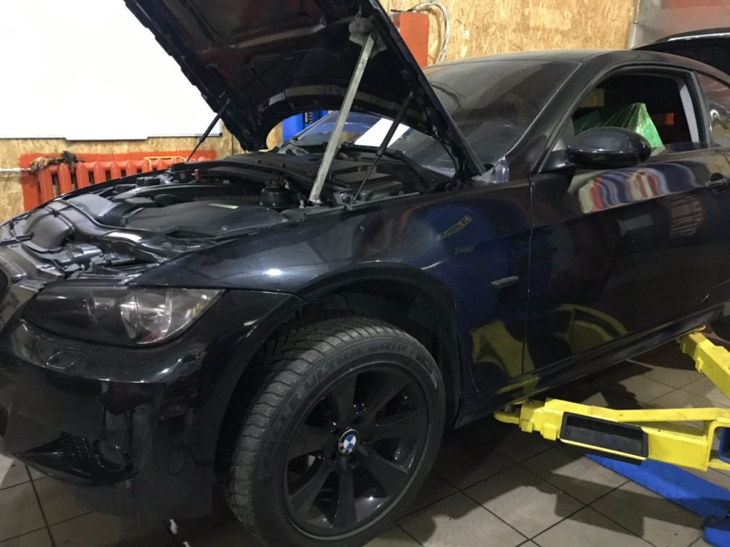 Чип тюнинг БМВ (BMW) 3-series (E90-E93) - 2005 -> 2010 325i - N52 218 л.с.