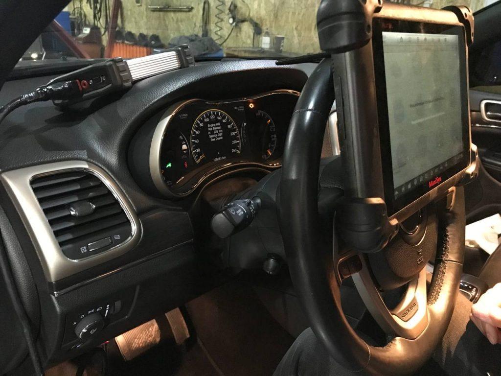 Чип тюнинг Джип (Jeep) Grand Cherokee 2011 -> ... 3.0 CRD 190 л.с.