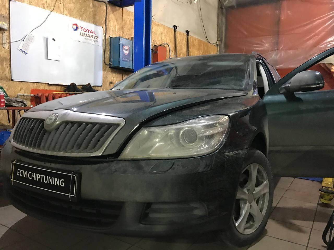 Чип тюнинг Шкода (Skoda) Octavia 2004 -> 2012 1.6 TDI 105 л.с.